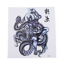 Gothic Dragon Tattoo Sticker Waterproof Mens Durable Chest Back Anti-sweat Water Domineering Full Arms