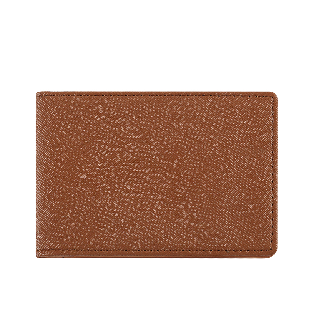 Retro New Leather Mens Business Short Wallet Designer Male Small Money Purses European Wallets Card Holder Coin Pocket Purse Bag