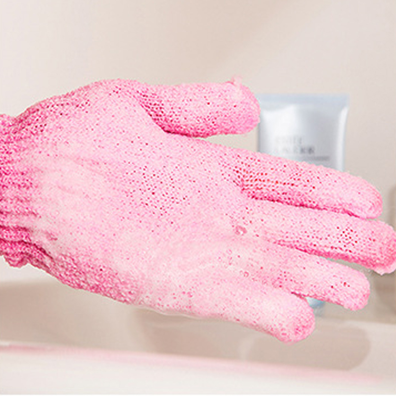Bath & Shower Beauty & Health Hearty 4pcs Exfoliationg Gloves Bath And Shower Cleansing Smooth Soft Face Legs Body Hot Seling