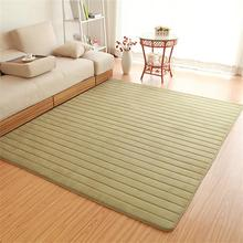 120X170CM Pastoral Striped Rugs And Carpets For Home Living Room Bedroom/Study Room Floor Mat Memory Foam Rectangle Carpet