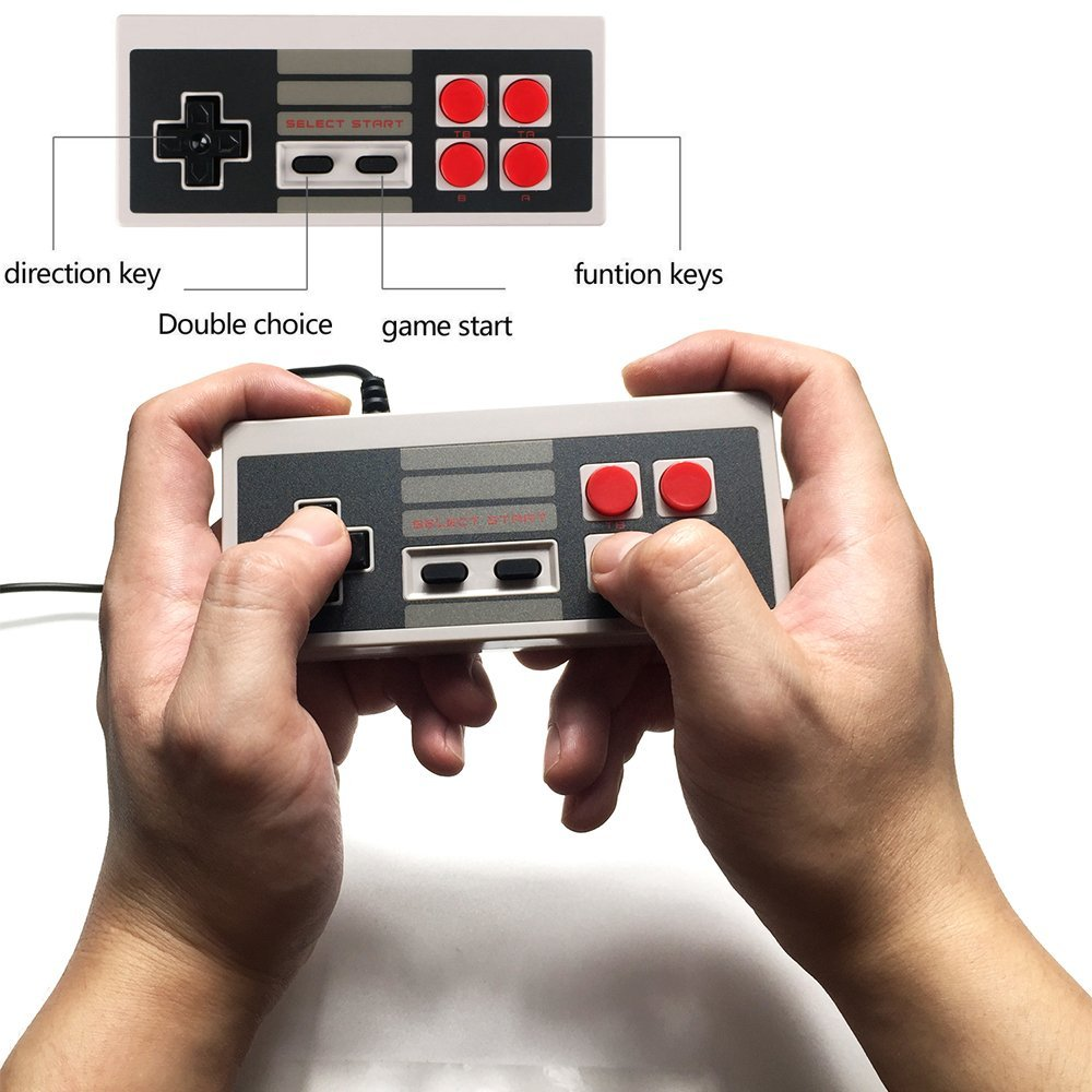 4red button controller for coolbaby Mini TV Handheld Game Console Video Game Console For Joypad for 8bit games console