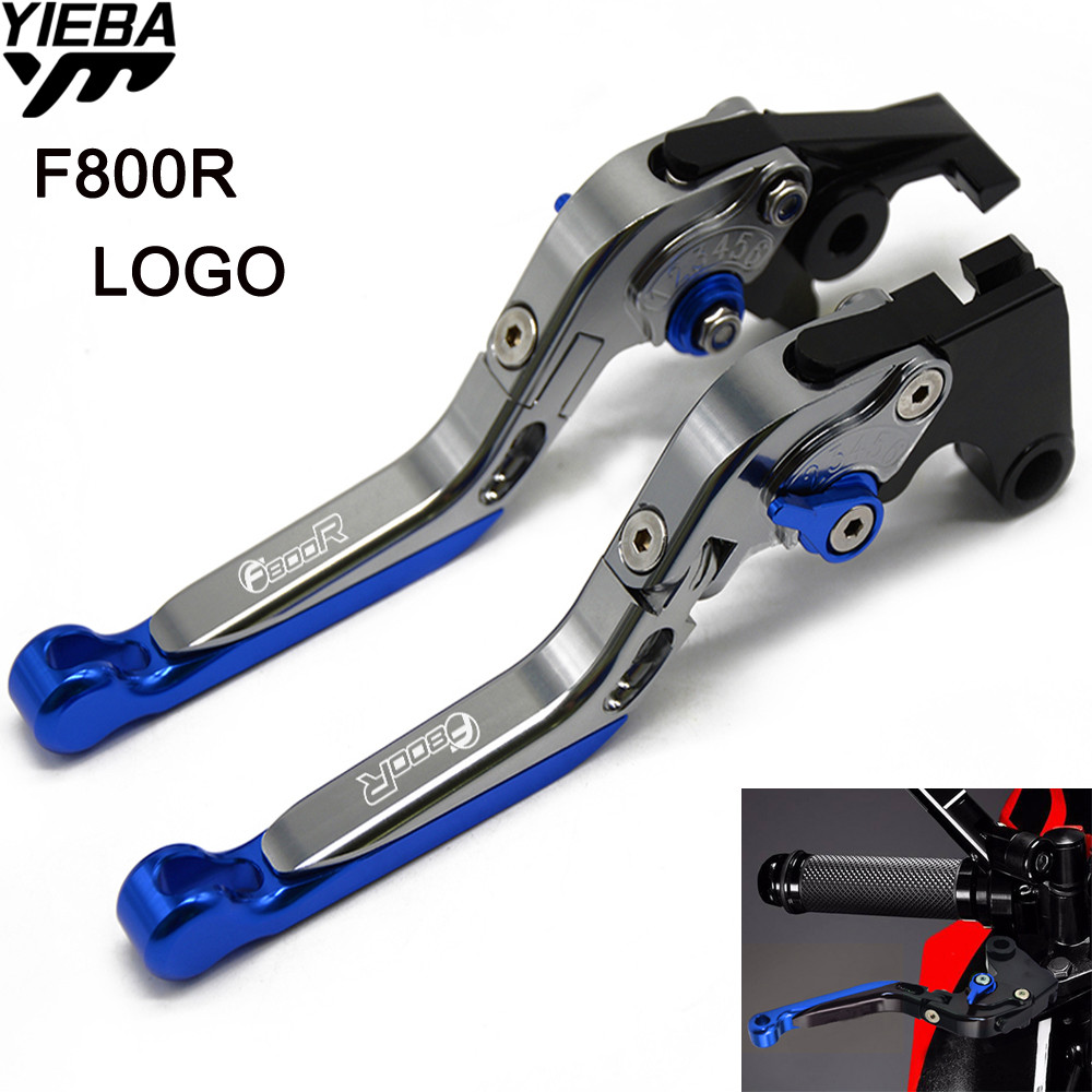 Motorcycle Accessories CNC Brake Handle Adjustable Folding Brake Clutch Levers For BMW F800R F 800 R F 800R 2009-2016 2015 2014 sale for bmw k1200r sport k1200s motorcycle adjustable folding extending cnc pivot brake clutch levers aluminum moto accessory