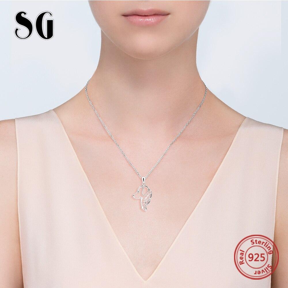 Cadena de joyería de plata de ley 925 Cadena de perro colgante - Joyas - foto 2