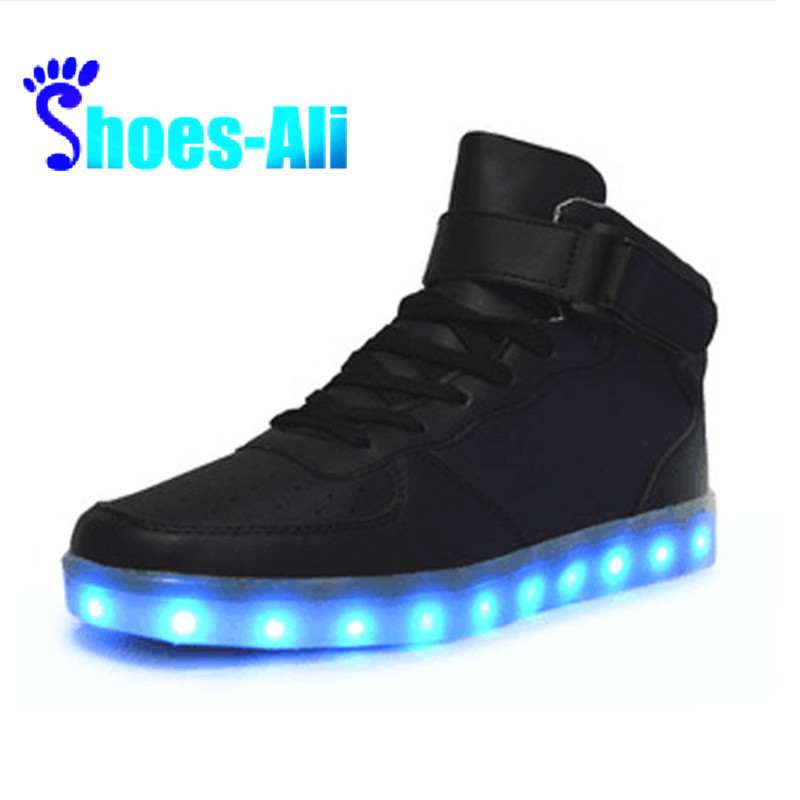 Led Shoes Women Luminous Shoes 7 Colors Women Fashion Basket Led Light Up Shoes Size Women Fashion Led Shoes Street Price Women's Flats