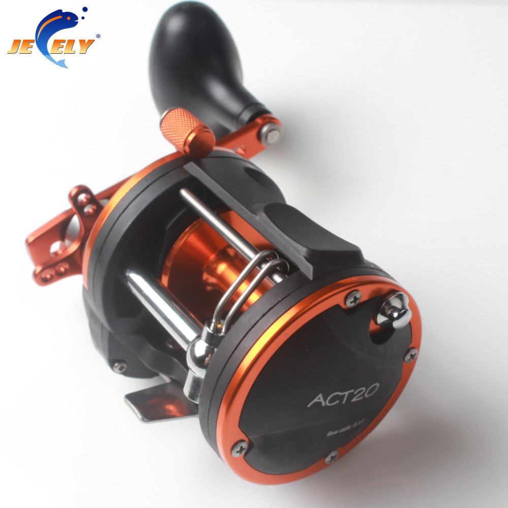 Free Shipping ACT20 Aluminum Fishing Trolling Reel,Jigging Reel,Big game fishing reel free shipping 5pcs combination daisy chain rigged big game trolling fishing bait sea tuna fishing bait