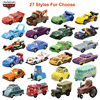 Disney Pixar Cars 2 3 saetta McQueen Jackson Storm Mater 1:55 pressofuso in lega di metallo modello auto giocattolo regalo di compleanno bambini ragazzi