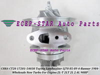 Cartucho De Turbo CHRA CT20 17201-54030 17201 54030 Turbocharger Para TOYOTA LANDCRUISER LJ70 1985-89 4-Runner 84-2L-T 2LT 2L 2.4L