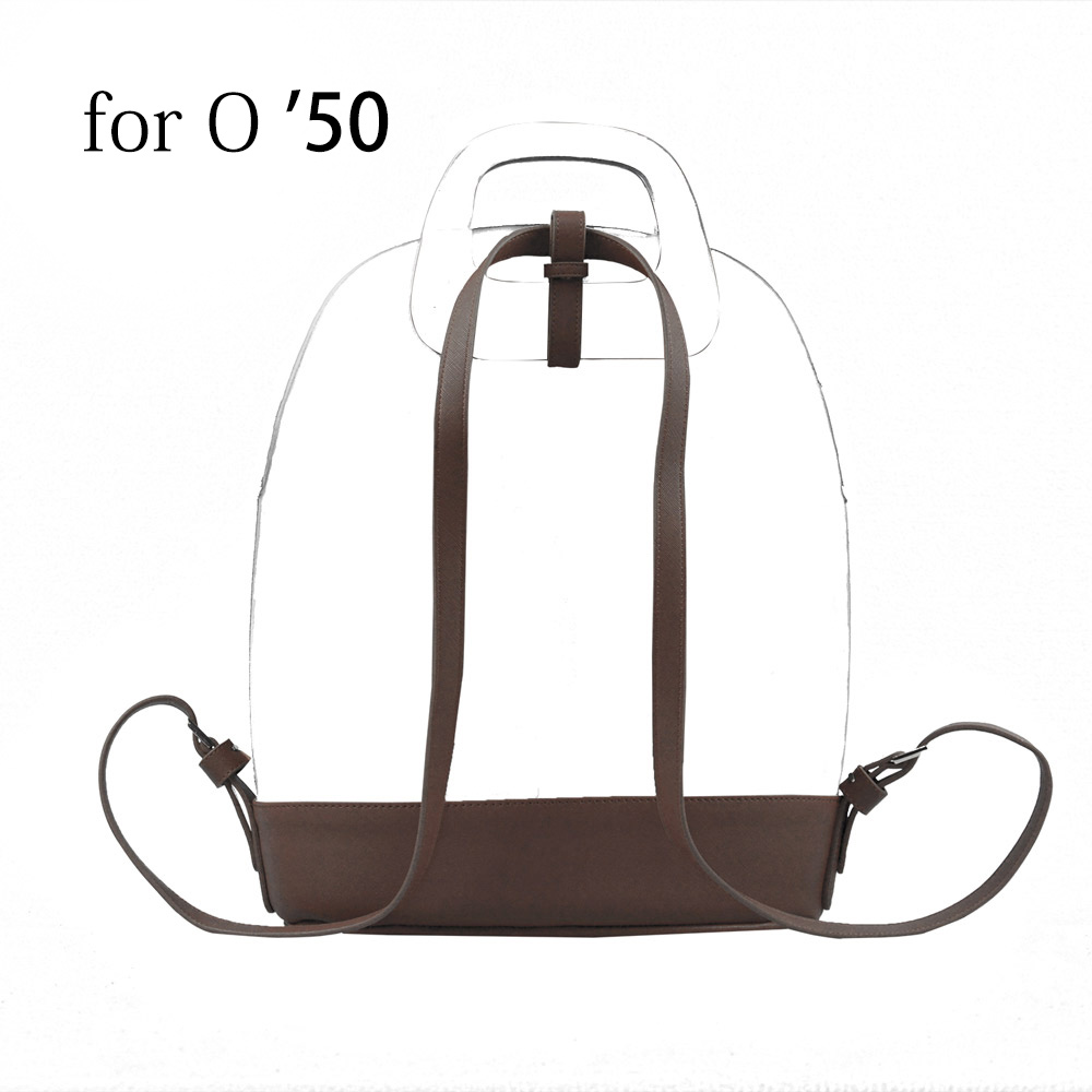 2019 New Slim Soft PU Leather Buckle Strap Bottom Backpack Belt For Obag 50 O Bag 50