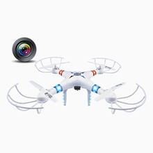 JXD-396V 4CH 2.4G Drone Big-size Aerocraft 6-Axes Gyro With Camera RC Quadcopter