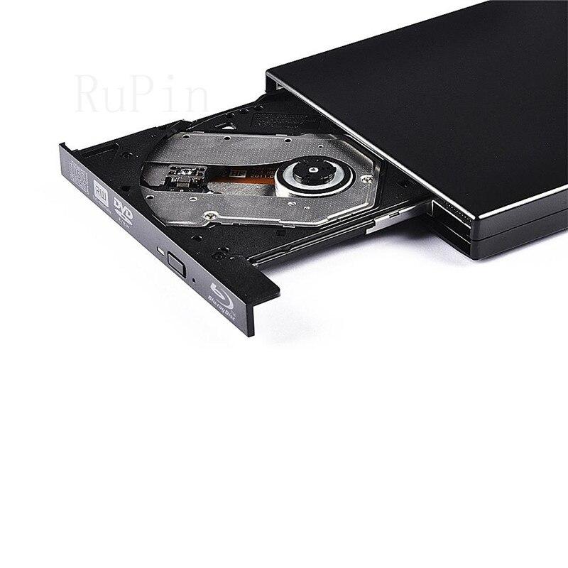 Bluray Player External USB 2.0 DVD Drive Blu-ray Combo 3D  BD-R BD-ROM DVD RW Burner Writer Recorder Drive for Laptop