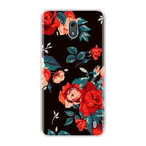 Image 2 - For Nokia 2 3 Case Cover Soft Silicone TPU Fashion Colorful Painted Phone Back Cover Protective Case For Nokia 2 3
