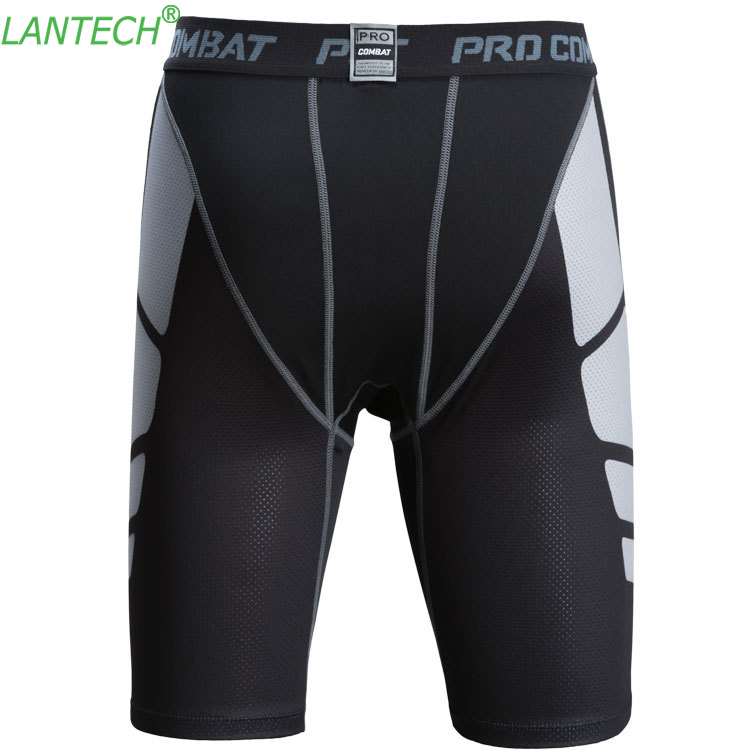 Vansydical Mens Compression Tights Base Layer Shorts Exercise Fitting Shorts