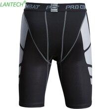 Vansydical Mens compression tights base layer shorts exercis