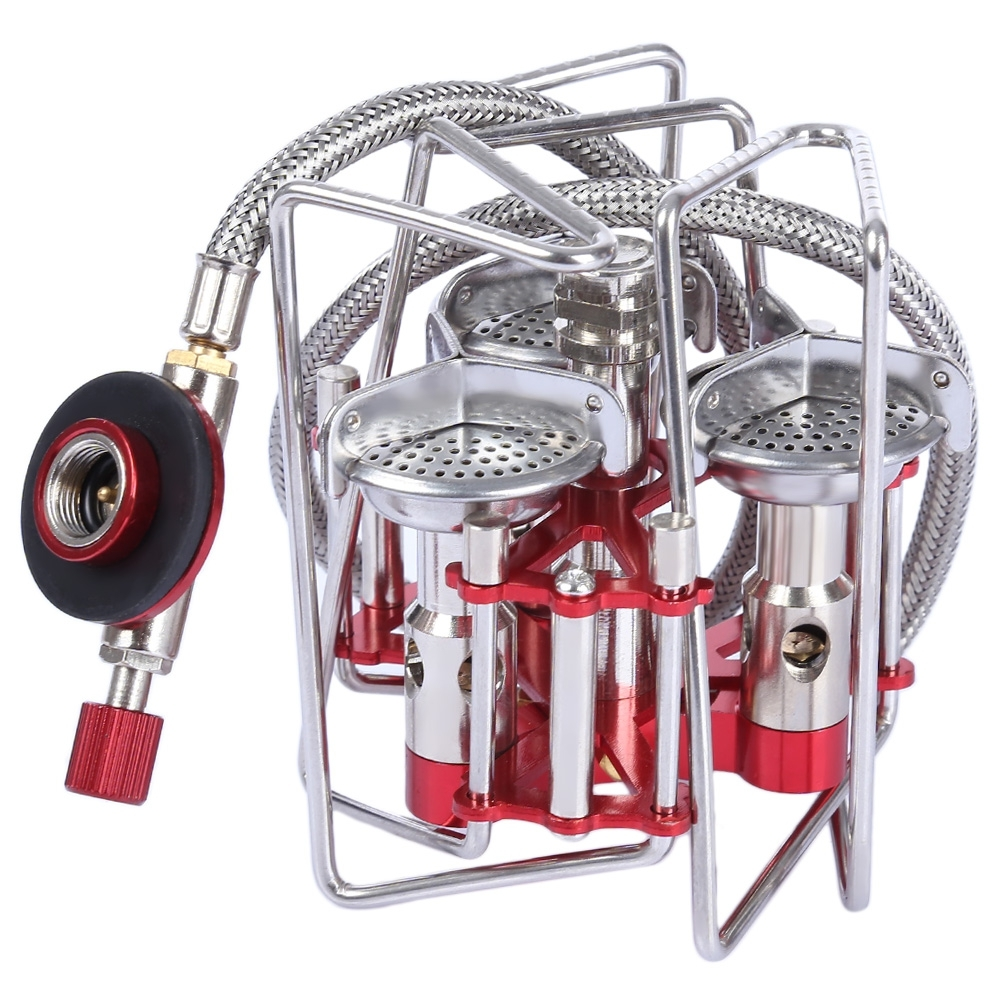 BULIN BL100 B6 A Portable Folding Mini Outdoor Camping Split Type Cooking Stove Picnic Gas Burner with Pouch Cookware