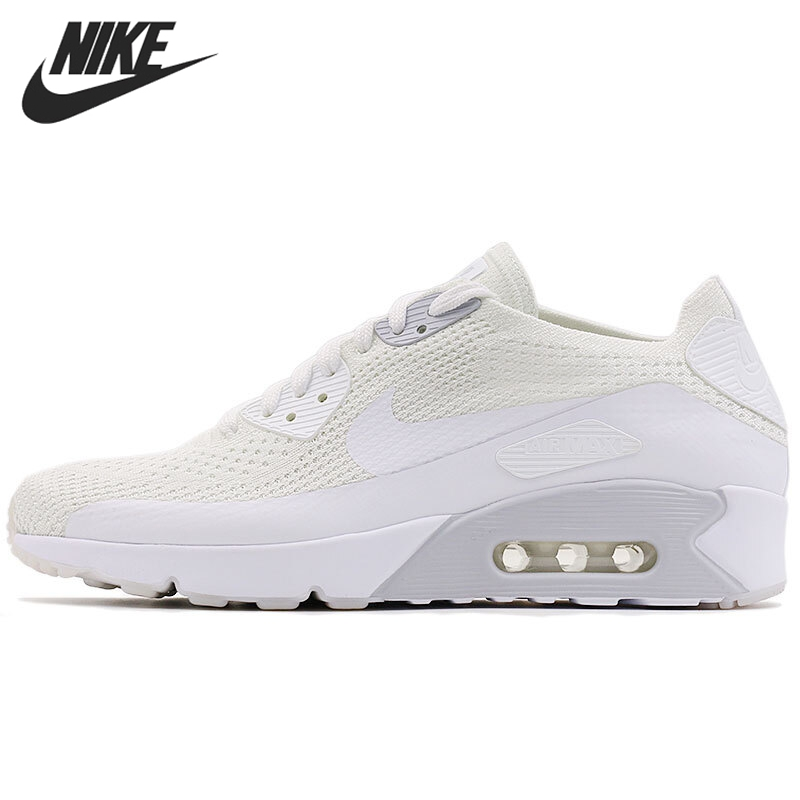 Original New Arrival 2017 NIKE AIR MAX 90 ULTRA 2.0 FLYKNIT Mens Running Shoes Sneakers