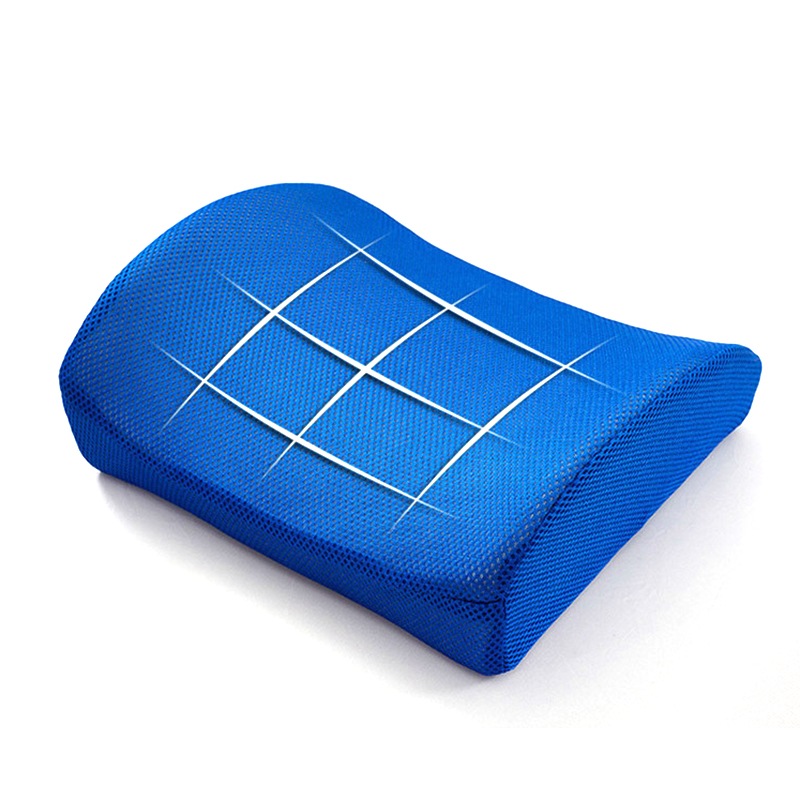Soft Memory Foam Lumbar Support Back Massager Waist Cushion Pillow for Chairs In The Car Seat Soft Memory Foam Lumbar Support Back Massager Waist Cushion Pillow for Chairs In The Car Seat Pillows Home Office Relieve Pain