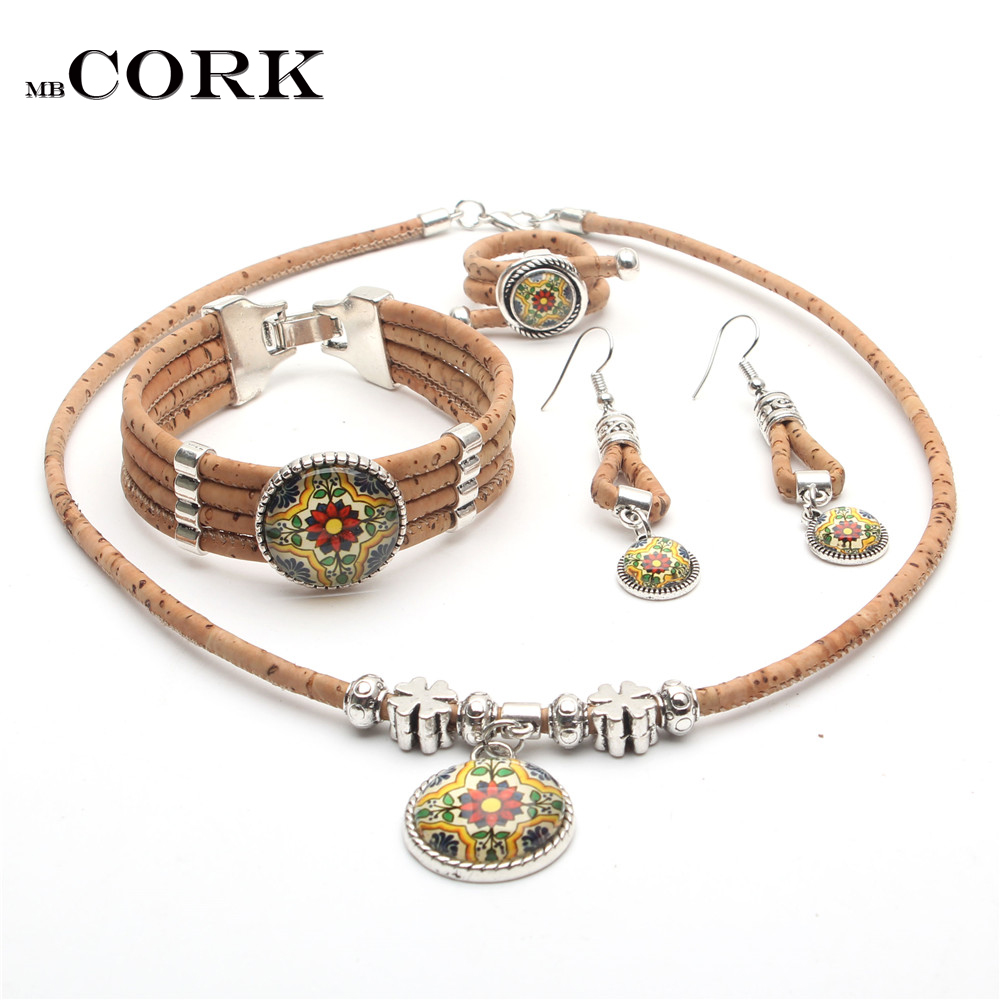 Cork Jewelry Set From...