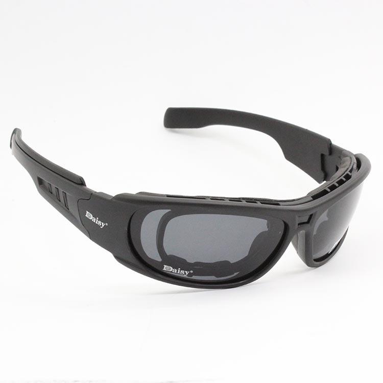 Image 4 - Очки с поляризационными стеклами Daisy C6, армейские тактические  очки для охоты на мотоцикле, страйкбольные пуленепроницаемые военные  очки с 4 линзами в комплектеmotorcycle glasses gogglesmotorcycle  gogglesmotorcycle glasses -