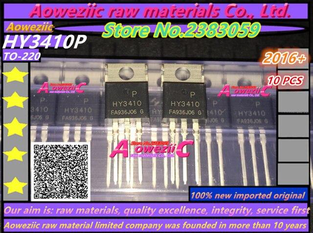 Aoweziic 100% mới ban đầu nhập khẩu HY3410 HY3410P TO 220 MOS FET 100 v 140A