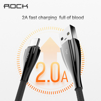 ROCK Metal Braid Typec Cable 2A Fast Charging Type C To Usb Cable For OnePlus 2