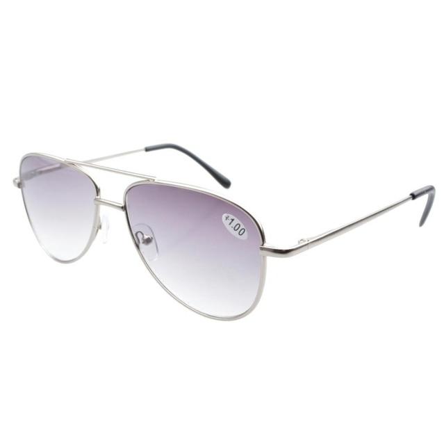 5647902000 R1502 Eyekepper Pilot Style Metal Frame Spring Hinges Reading Glasses Sun  Readers Men +1.0 1.25 1.5 1.75 2.0 2.25 2.5 2.75 3.0