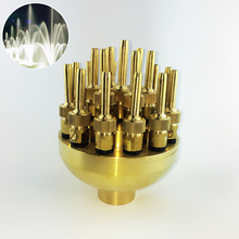 "High Quality 1.0"" DN25 1.5"" DN40 3 Layers Flower Typed Fountain Nozzles Spray Head Pond"