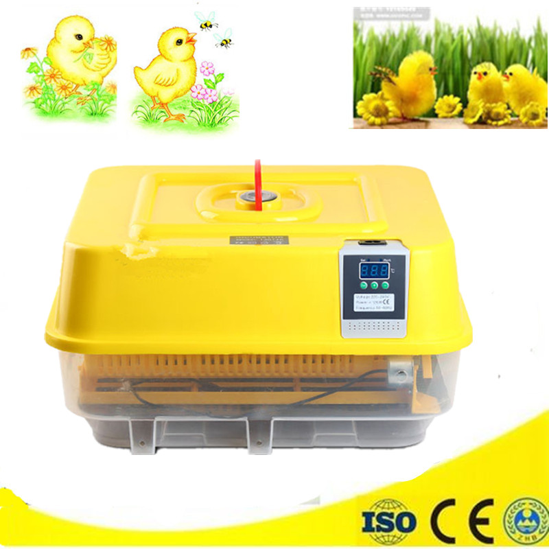 Newest small eggs incubator automatic digital control hatcher chicken goose egg poultry brooder equipment automatic digital egg incubator mini multifunctional hatcher electric hatching machine chicken brooder