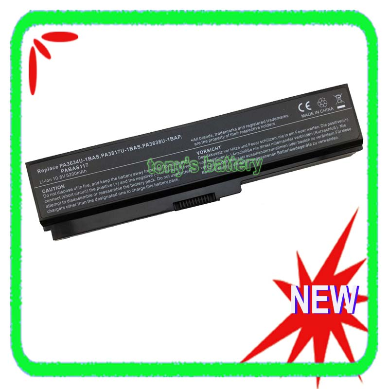 New Battery for Toshiba Satellite L755D-S5204 L755-S9520D PA3634U-1BAS PA3634U-1BRS PA3817U-1BRS PA3818U-1BRSNew Battery for Toshiba Satellite L755D-S5204 L755-S9520D PA3634U-1BAS PA3634U-1BRS PA3817U-1BRS PA3818U-1BRS