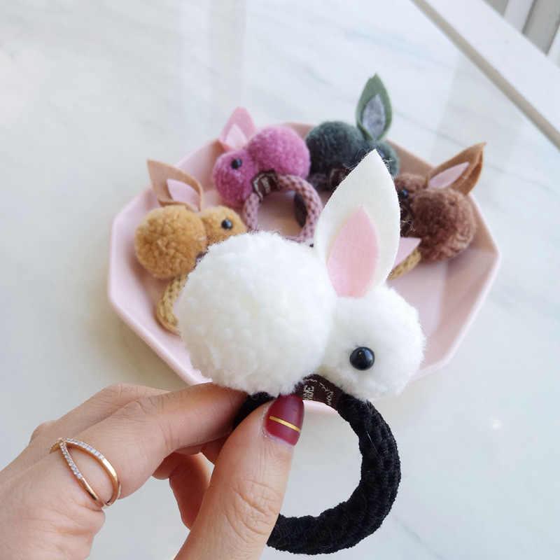 เด็กสาวแหวนผมกระต่ายการ์ตูนกระต่าย Headdress เด็กน่ารักเด็กผมเชือกผมอุปกรณ์เสริม