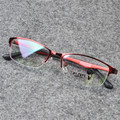 Black Red Pink Purple Eyewear Women Men Glasses Frames