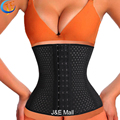 LSYCDS Hollow Out Breathable Smooth Three Spiral Steel Bone Hot Body Shapers Women Plus Size 6XL Waist Trainer latex for Ladies