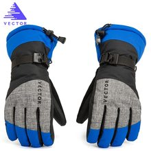 Women Men Ski Gloves Snowboard Snowmobile Motorcycle Riding Winter Windproof Waterproof Unisex Snow