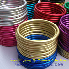 Free Shipping 10pcs/5pairs certificated non toxic lead and nickel free 3inch aluminium rings for Ring Slings