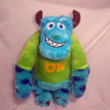 60cm  Sulley Sullivan Plush Toy Stuffed Animals Baby Kids soft for Children Gifts Soft pillow toy dolls