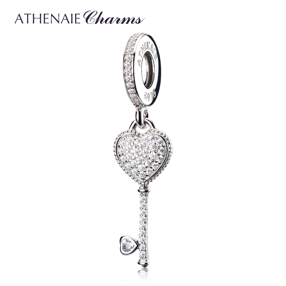 Athenaie 2 Colors 925 Sterling Silver Clear Cz Symbol Of Trust