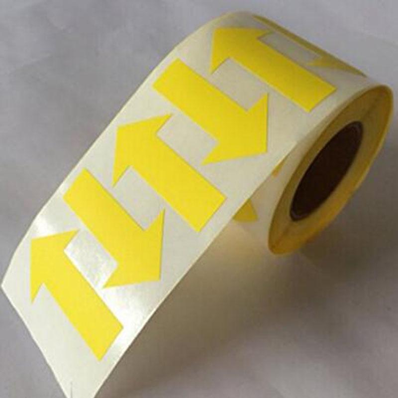 etiquetas da seta 1000 rolo 40*100mm etiqueta autoadesiva