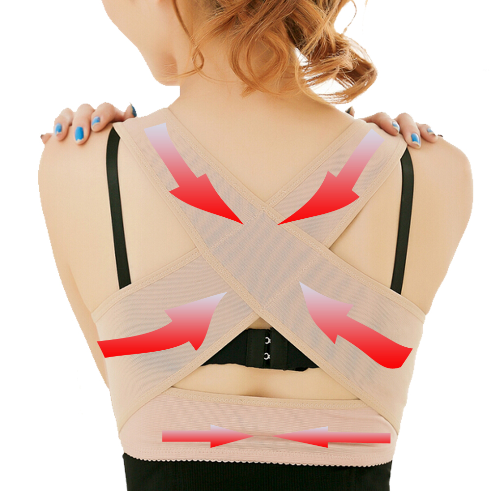 Prix pour Élastique Posture Correcteur Chest Support Retour Redresseur Épaule Brace Ceinture de Soutien de Taille pour les Femmes S-XL
