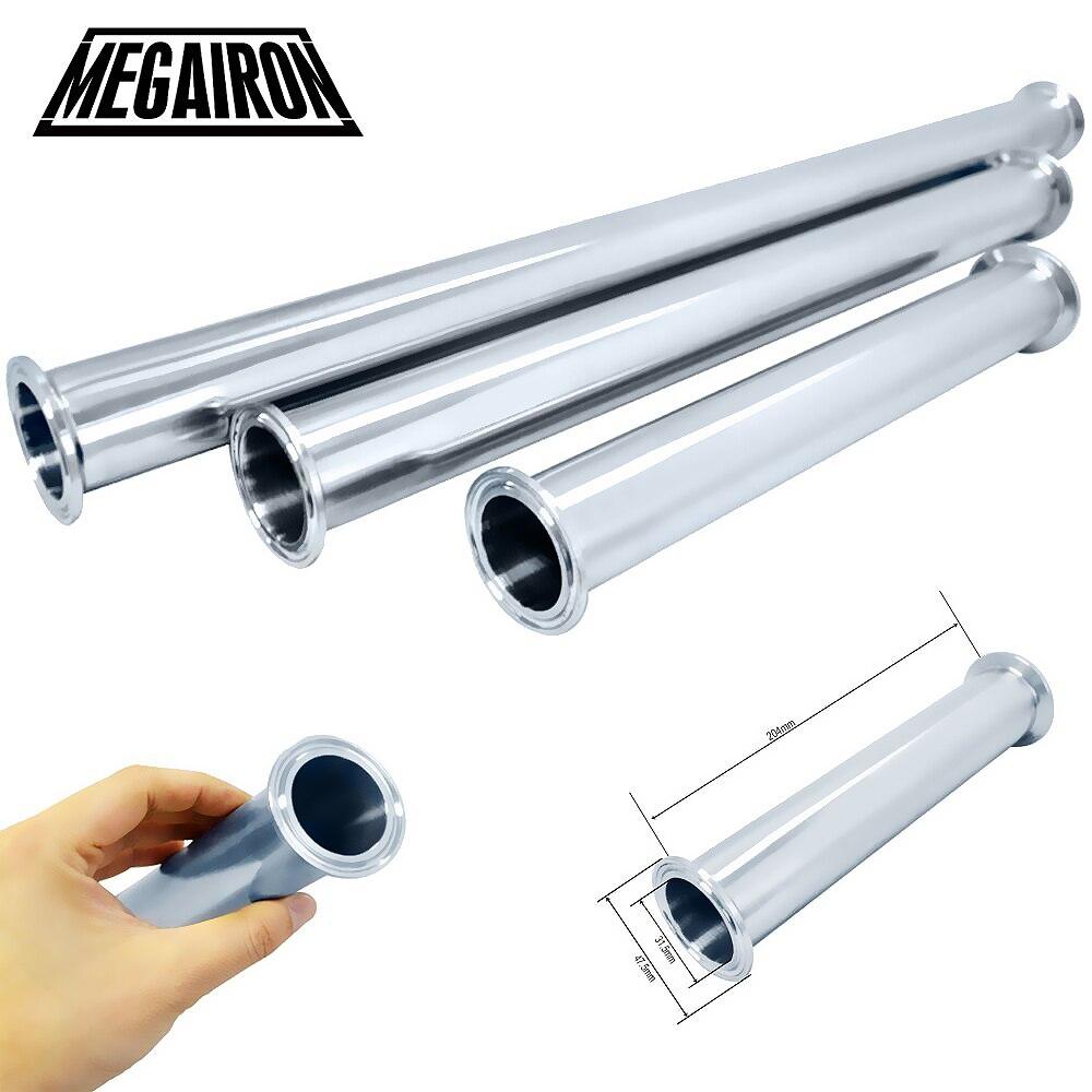 MEGAIRON sanitaria Tri Clamp tipo tubo de carrete con 51/64mm Abrazadera SS316 4/6/8 /12/18/24