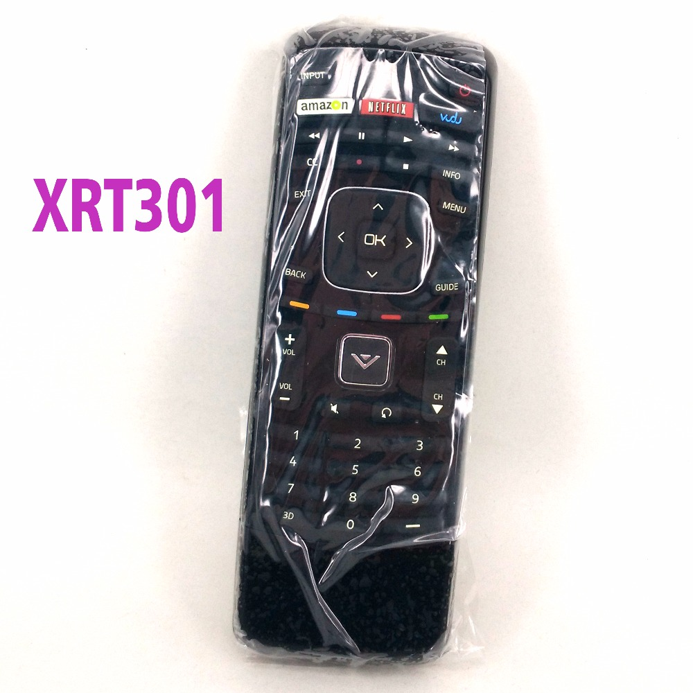 High quality New For Vizio XRT301 Qwerty keyboard Remote controller for M470VSE M650VSE M550VSE E420i-A1 E500i-A1 E601i-A3 image