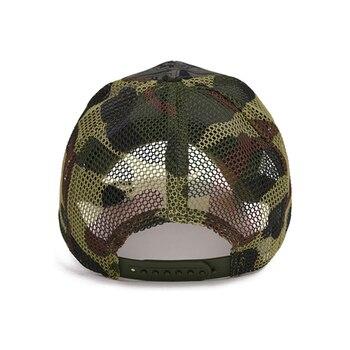 Outdoor Camouflage Boy's Mesh Baseball Cap 6