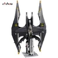 Stzhou Batman Chariot Superheroes The Batwing Superman Super Heroes Building Block Marvel Model Toy Compatible Legoed