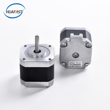 цена на HUAFAST nema17 motor 42 stepper motor 3v dc nema 17 40mm arduino 3d printer parts printing MK8 Extruder for 3d printer and cnc