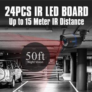 Image 3 - Besder ahd analógico de alta definição vigilância câmera infravermelha 720p ahd cctv câmera segurança câmeras bala ao ar livre