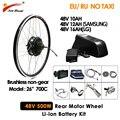 """500W Leistungsstarke Elektrische Bike Conversion Kit 20 """"26"""" 700C Hub Motor Rad MTB Ebike Kit mit 48V 10Ah 12Ah 16Ah Lithium Batterie-in E-Bike aus Sport und Unterhaltung bei"""