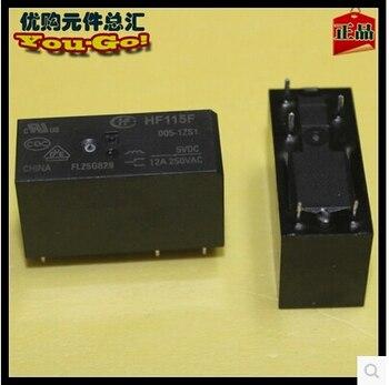 HOT NEW relay HF115F-005-1ZS1 HF115F-005-1ZS1-5VDC HF115F0051ZS1 HF115F 005-1ZS1 5VDC 005-1ZS1-5VDC 5vdc dc5v 5V DIP5 фото