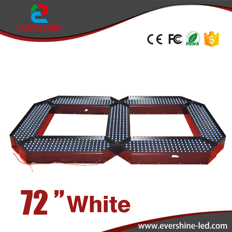 72 High Brightness White Color Digita Numbers 7 Segment LED Gas Price LED Oil Price 7 Segment of the Module сумка для видеокамеры rush freeshpping r6721 digita slr packpack a2210
