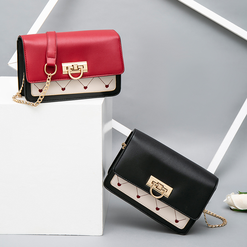 2019 vintage fashion PU leather handbag women 39 s designer handbag embroidered handbag messenges bag on lady 39 s Slant shoulder in Top Handle Bags from Luggage amp Bags
