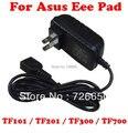 15 V USB AC de parede para Asus Eee Pad TF101 TF201 TF300 Prime TF700