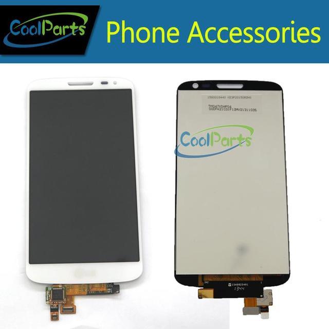 Pantalla lcd y digitalizador de pantalla táctil para lg g2 mini d620 d618 negro y blanco envío libre del color 1 pc/lot