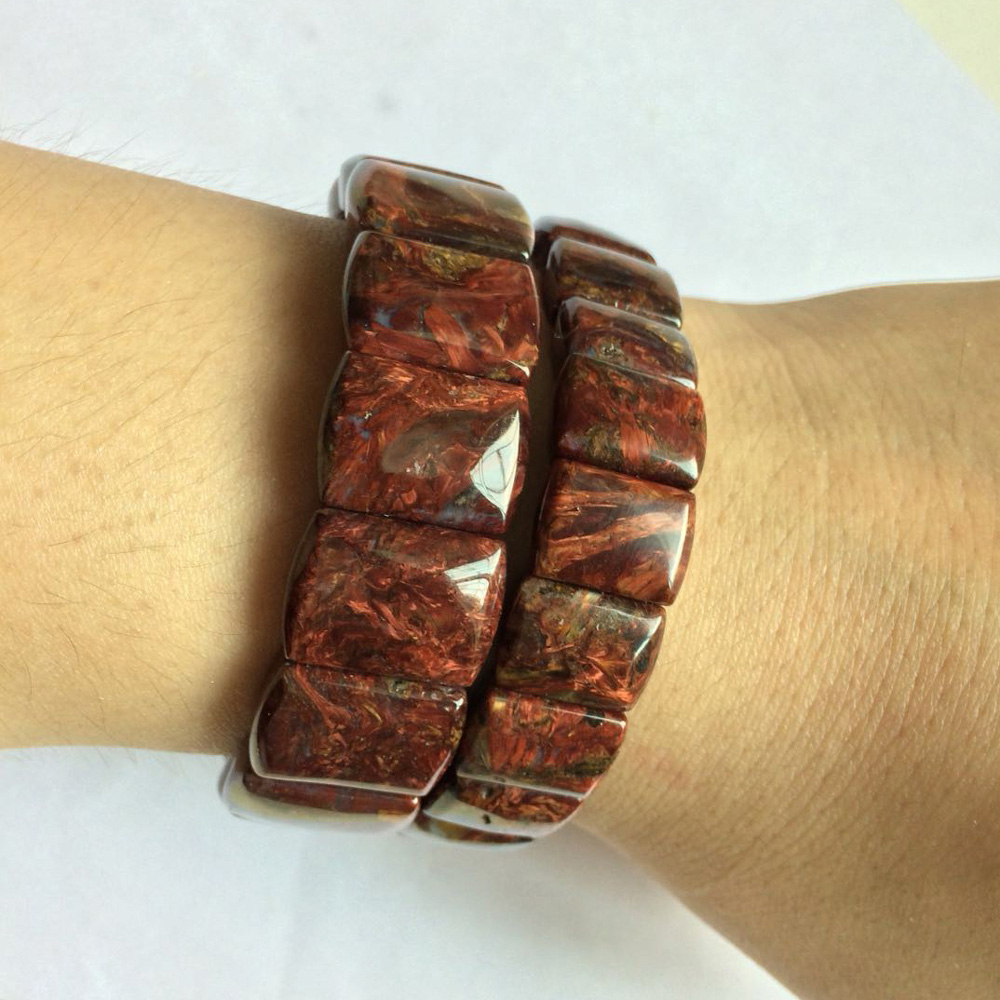 цена natural Pietersite stone beads bracelet natural GEM stone bracelet DIY jewelry for woman free shipping wholesale ! онлайн в 2017 году